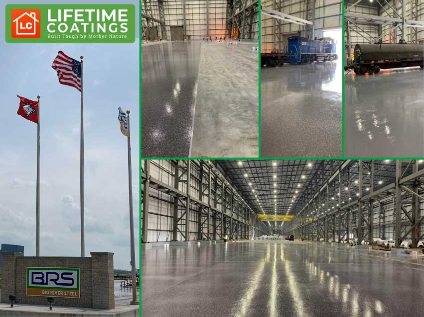 Lifetime Coatings Case Study – Steelworks in Arkansas